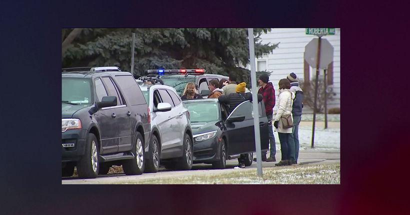 Teen with handgun shot by officer inside Wisconsin high school