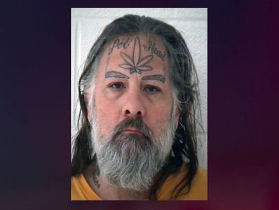 Wanted: Sex offender with 'pot head' tattoo on forehead at large