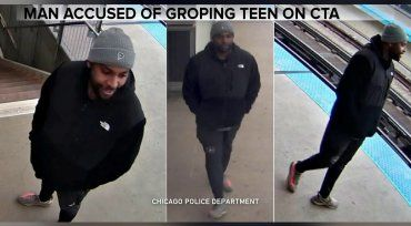 Police looking for man after 16-year-old girl groped on Belmont Brown Line platform