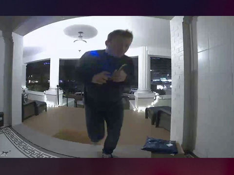 Doorbell camera captures man defecating on Denver porch