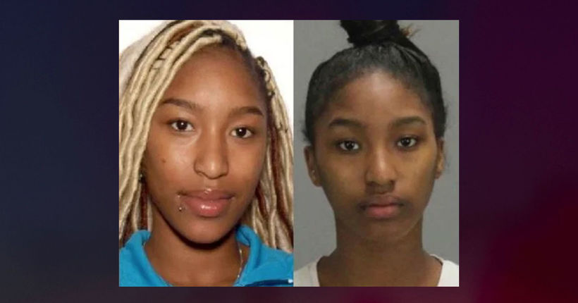 'Most wanted' twin sisters accused of beating woman with frying pan