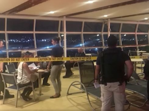 Video appears to show moment grandchild fell to her death on cruise
