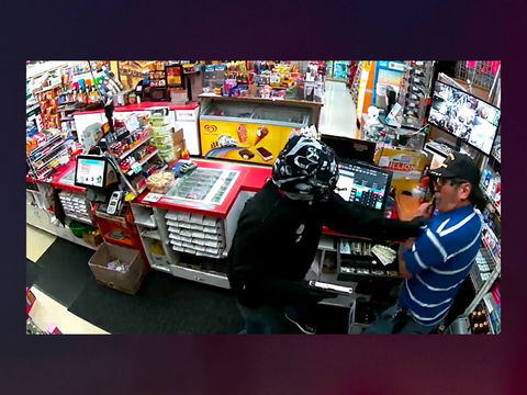 California clerk kills armed robber who pistol-whipped him