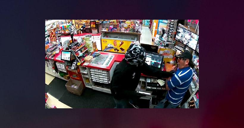 California clerk kills armed robber who pistol-whipped him