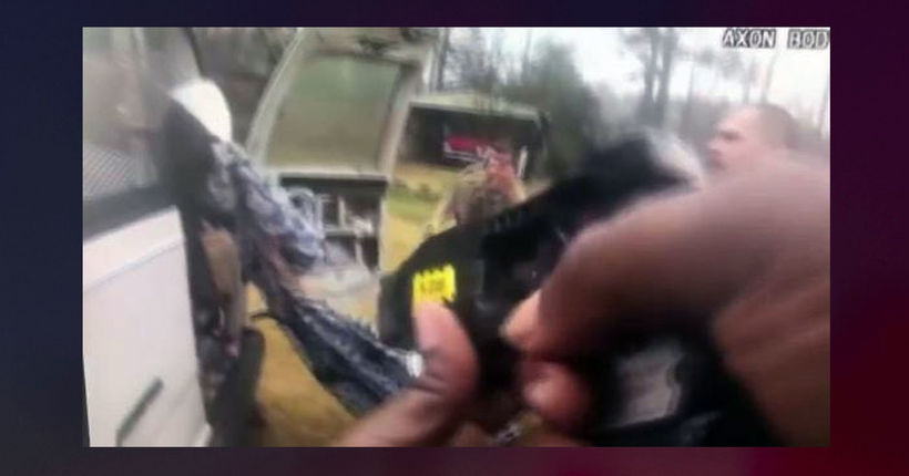 Rescue of kidnapping victim in Alabama caught on bodycam video