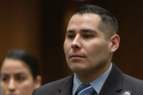 Cop pleads not guilty to fondling dead woman's breasts