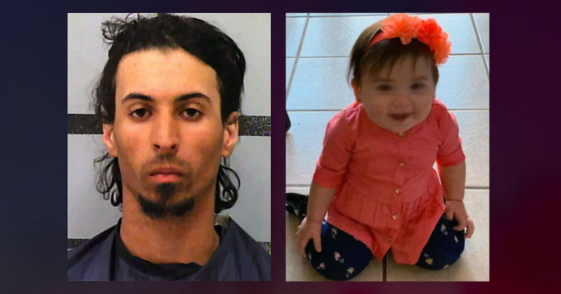 Texas girl stuffed in backpack dies in car, mom's boyfriend charged with murder