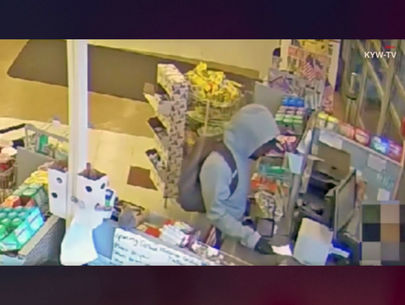Man robs pharmacy, gives clerk note: 'I'm sorry, I have a sick child'