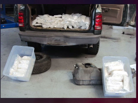 Border Patrol seizes meth worth $190K on California highway