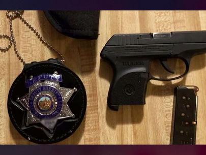 Boy finds deputy's badge, handgun left at Tahoe rental home