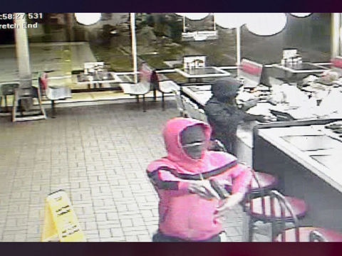 Police looking for woman, 2 men in Waffle House armed robbery