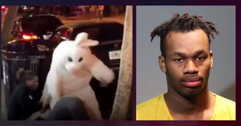 'Orlando Easter Bunny' nabbed fleeing hit-and-run crash - in costume