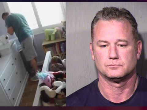 Nanny cam in home catches federal agent smelling girl's underwear