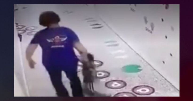 Video shows Louisiana day care owner dragging child down hall