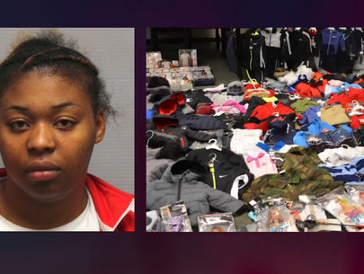 Woman ran basement 'online boutique' of stolen goods, police say