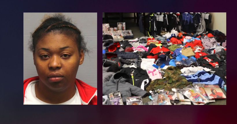 Woman ran basement 'online boutique' of stolen goods, police say