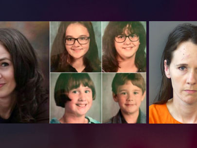 Fugitive Virginia mom caught in Indiana, four kids found safe
