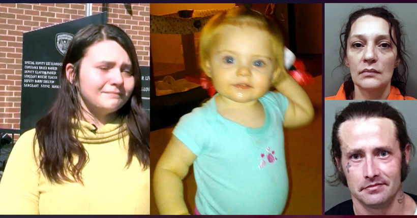 Evelyn Boswell missing: Mom says she knows who took her; grandparents to be extradited