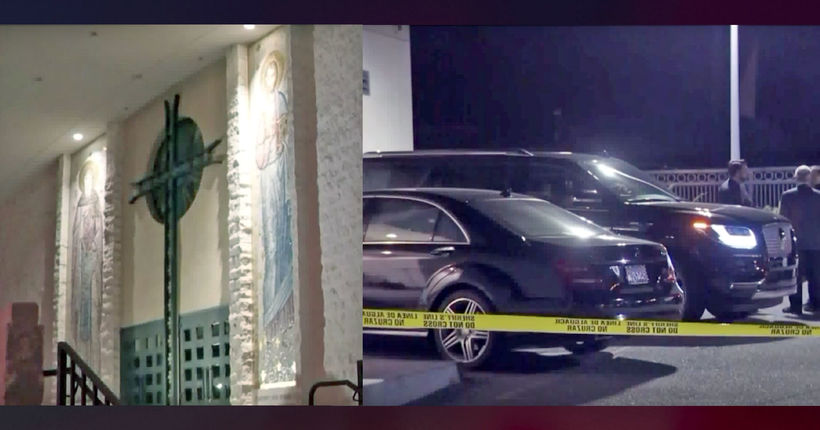 Hearse stolen from California church with body inside