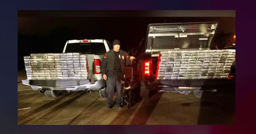 Texas police K-9 sniffs out $1.2 million worth of meth