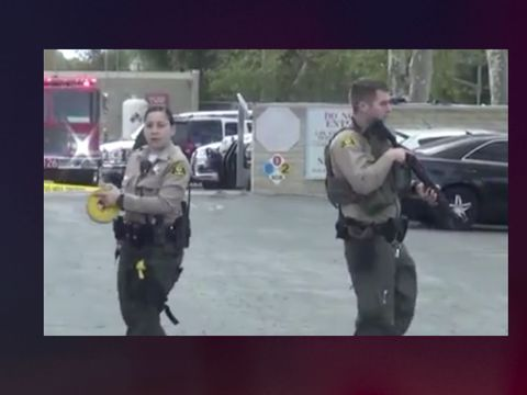Deputy fatally shoots armed man in parking lot of sheriff's station