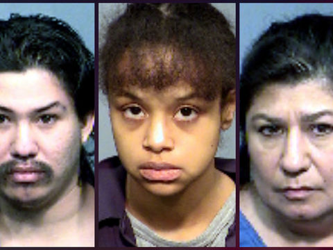 Parents, grandmother arrested after 6-year-old kept in closet dies