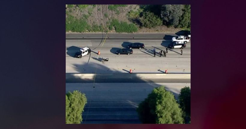 60 Freeway closed in Chino as authorities investigate police shooting
