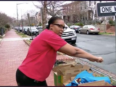 D.C. mom says she was run over by Girl Scout cookie money thief