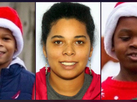 Mom arrested for murder, 2 abducted children found safe