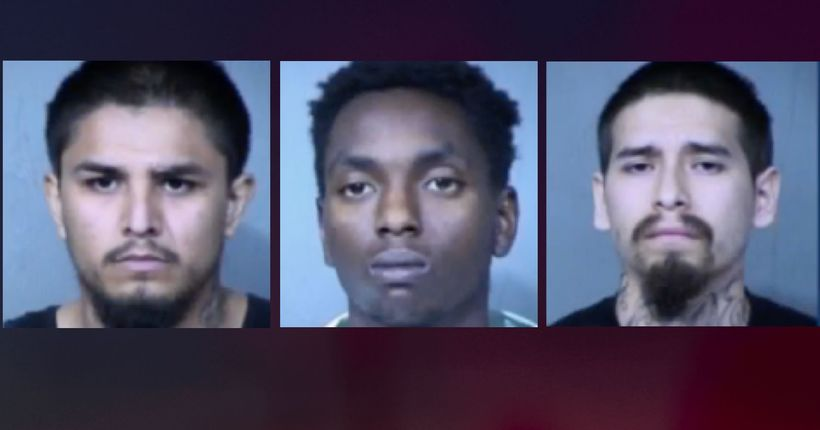 PD: Three men arrested after allegedly assaulting 60-year-old man in November 2019