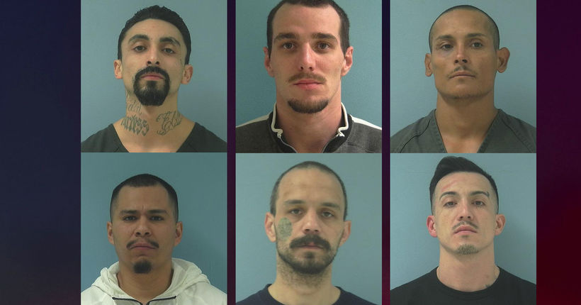 6 inmates at large after 12 escape from Yakima County Jail