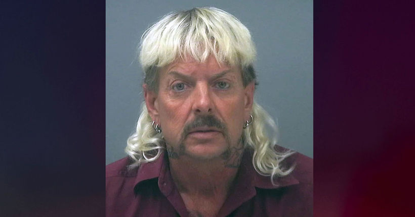 'Joe Exotic' sues feds, appeals to President Trump for pardon
