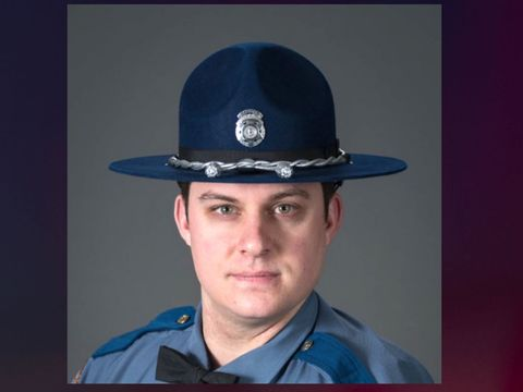 Man accused of running down state trooper charged with murder