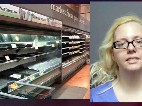Coronavirus 'prank' suspect arrested, after $35K in groceries tossed