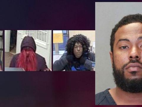 'Bad Wig Bandit' bank robbery suspect captured in Georgia