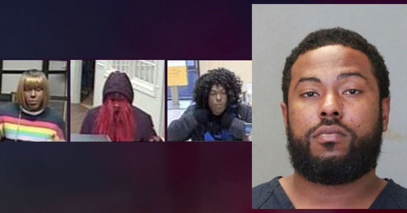 'Bad Wig Bandit' bank robbery suspect captured in Georgia