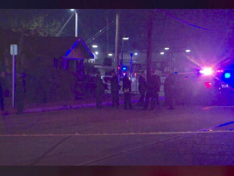 Sword-wielding man killed in police shooting