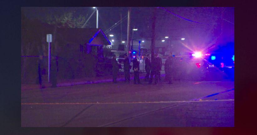 Sword-wielding man killed in Pomona police shooting