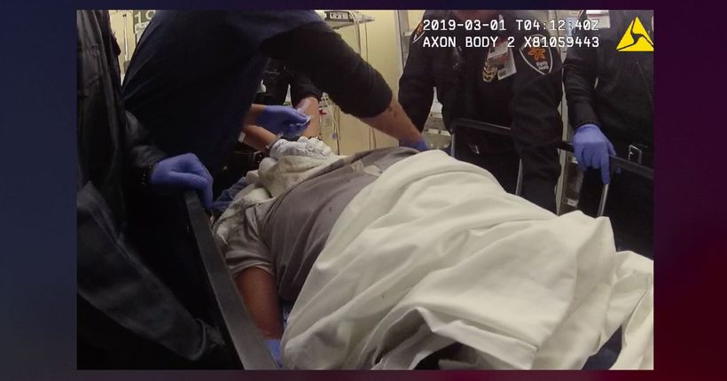 South L.A. man sues LAPD, alleging officer suffocated him until he was unconscious