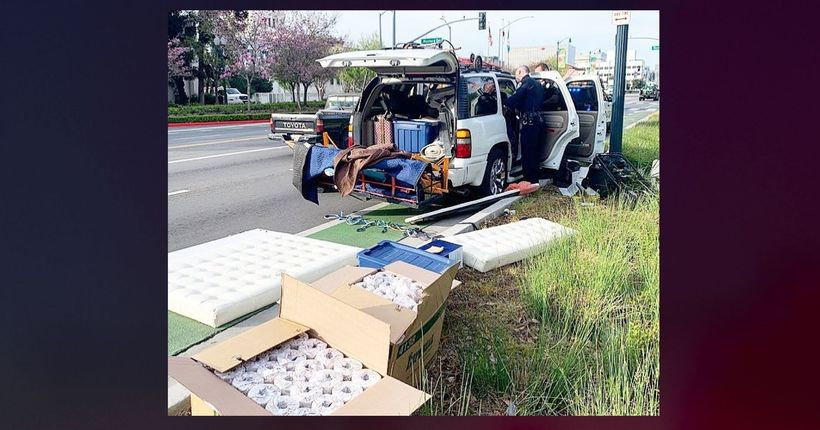 192 toilet paper rolls found in stolen SUV pulled over in Beverly Hills: Police