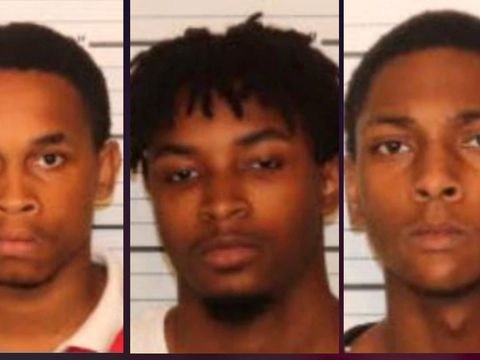 Three men arrested in apartment staircase rape of 13-year-old girl
