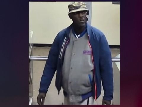 Police seek man for theft of public transit vest, hat, and keys