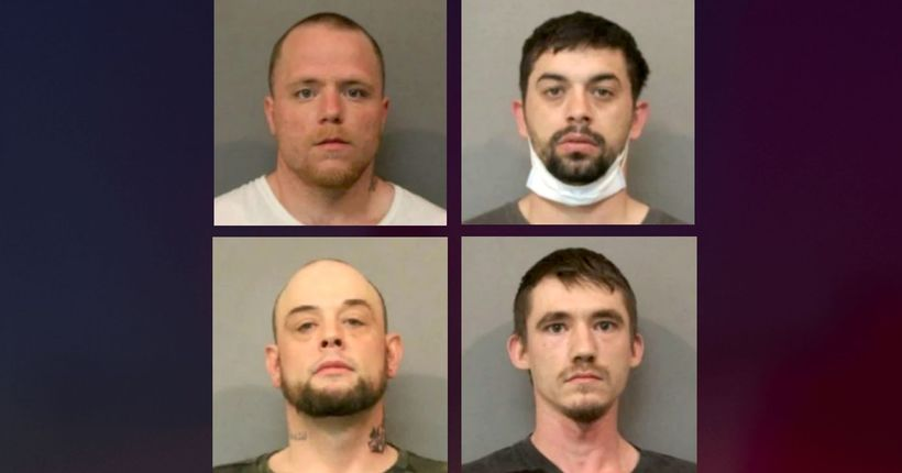 4 men arrested in home-invasion plot to steal Indiana woman's stimulus check, police say