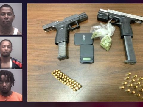 Drugs, guns thrown out car window during North Carolina police pursuit