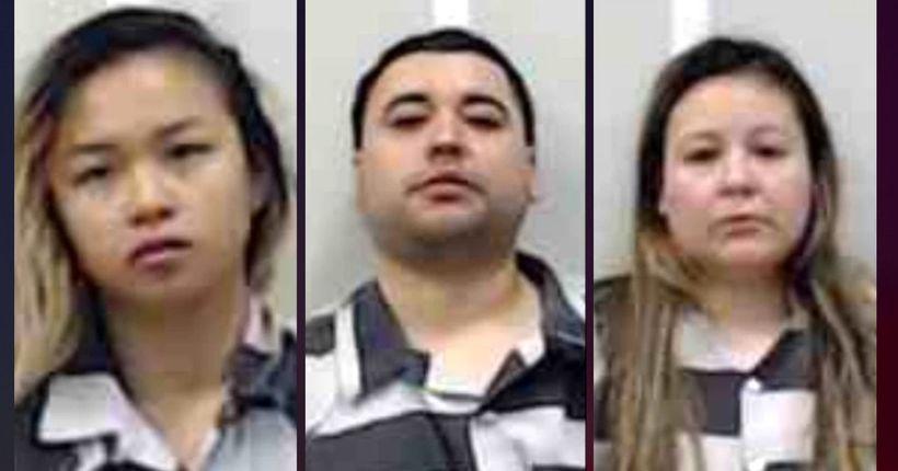 Alabama deputies find liquid meth, 44 pounds of marijuana, AR-15, meth lab: 3 arrested