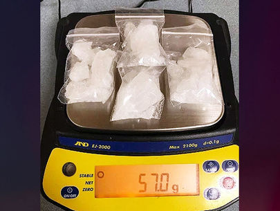 Wisconsin bicyclist arrested with 57 grams of meth, sheriff's office says