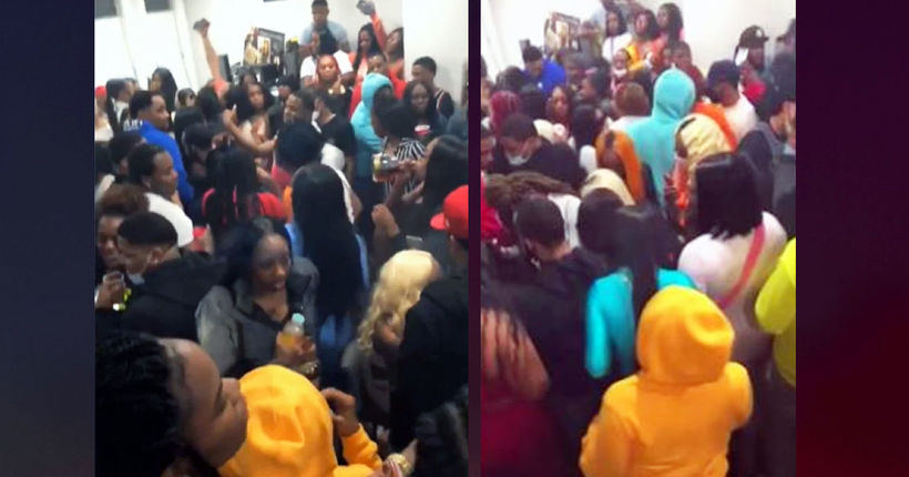 Viral video: Large house party amid COVID-19 pandemic