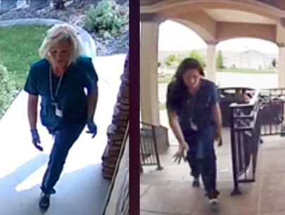 Police: Washington porch package thieves dressed as nurses