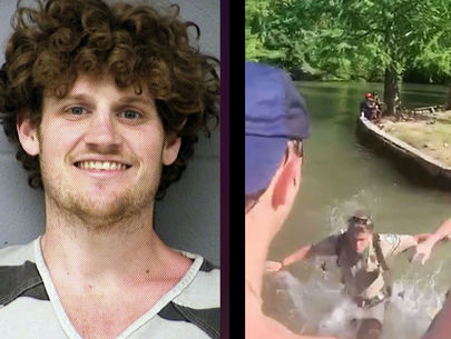 Suspect arrested after park ranger pushed into Texas lake