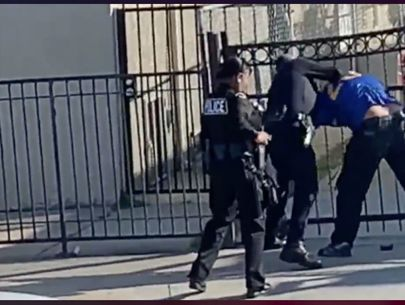 Video: LAPD officer strikes man repeatedly, prompting investigation
